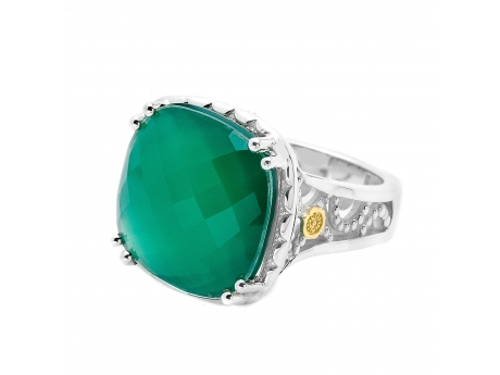 Green Onyx Oversized Ring by Tacori 18k925